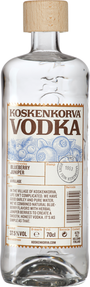 Koskenkorva Blueberry Juniper Wodka